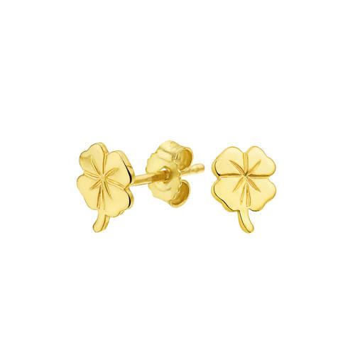 Selected Jewels gouden oorstekers - 4005626