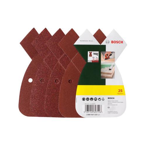 Bosch 25-delige schuurbladenset voor B+D Mouse kopen