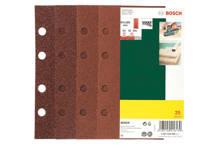 25-delige schuurpapierset voor vlakschuurmachine