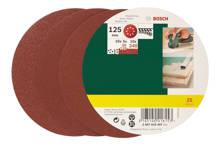 25-delige schuurpapierset voor excentrische schuurmachine