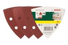 25-delige schuurpapierset voor deltaschuurmachine