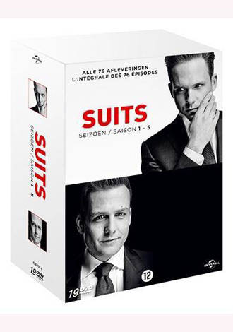 Suits - Seizoen 1-5 (DVD)
