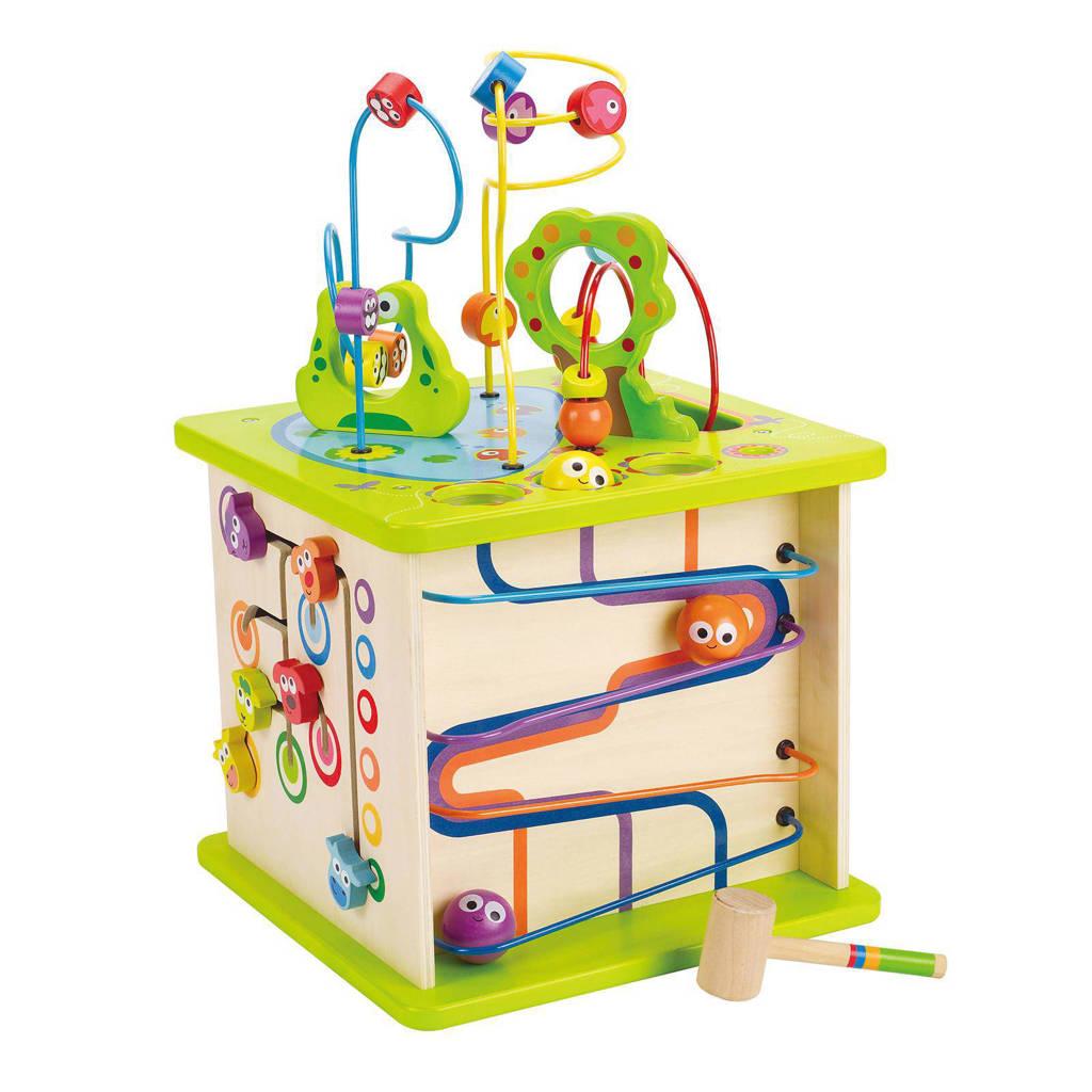 Hape houten speelkubus
