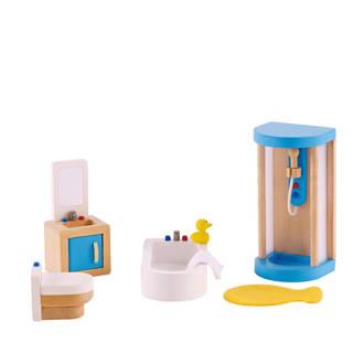 houten poppenhuis badkamer