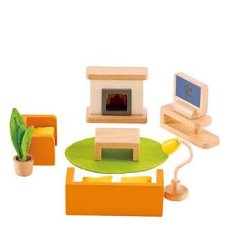 houten poppenhuis woonkamer