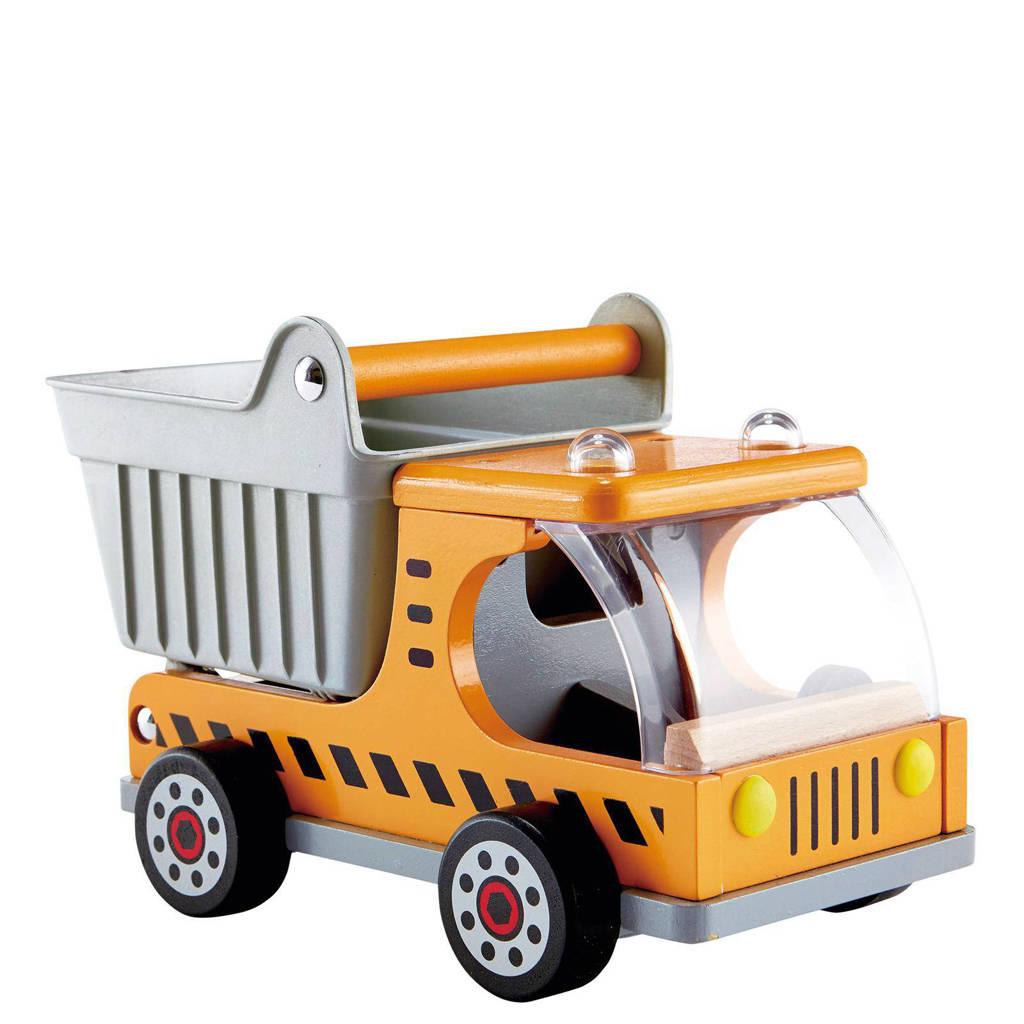 Hape houten kiepwagen