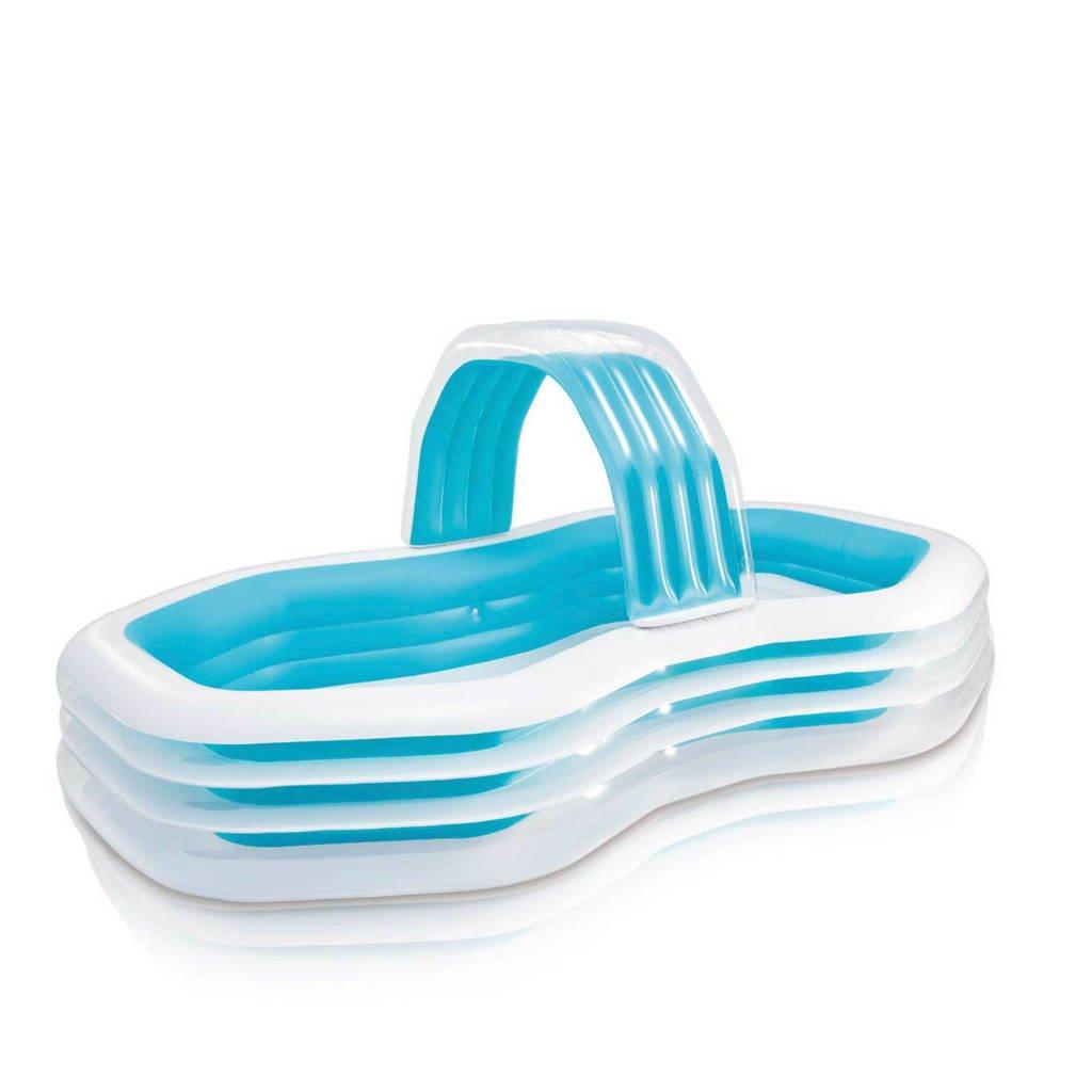 Intex Swim Center Family Cabana Pool