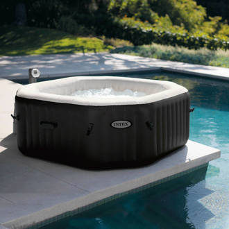 Jet & Bubble Deluxe 4-persoons opblaasbare jacuzzi