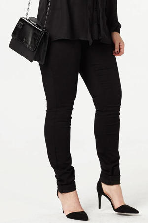 extra slim fit jeans Nille zwart