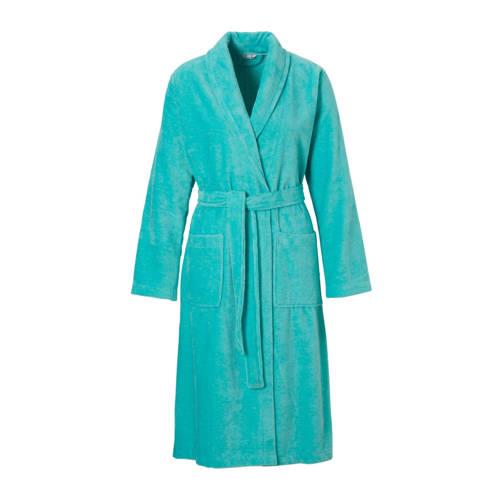 Pastunette badstof badjas turquoise
