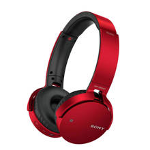 MDR-XB650BT on-ear bluetooth koptelefoon rood