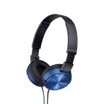 Sony ZX310 on-ear koptelefoon blauw