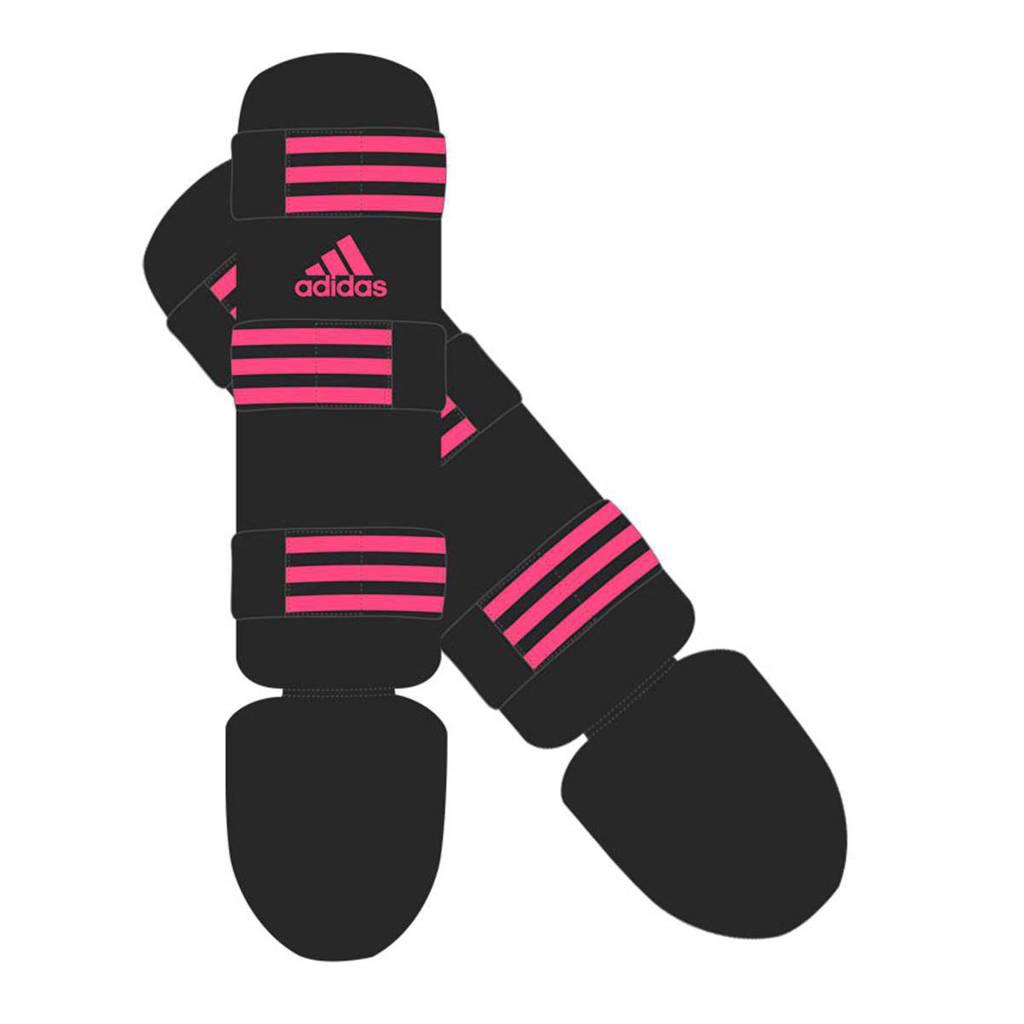 adidas performance scheenbeschermers Good S, Zwart/roze