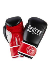 Benlee bokshandschoenen Carlos 10 oz, Zwart/rood