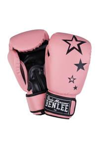 Benlee dames bokshandschoenen Sistar 10 oz, Roze/zwart