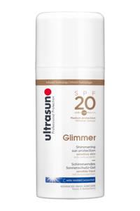 Ultrasun Glimmer zonnebrandmelk SPF 20 - 100 ml