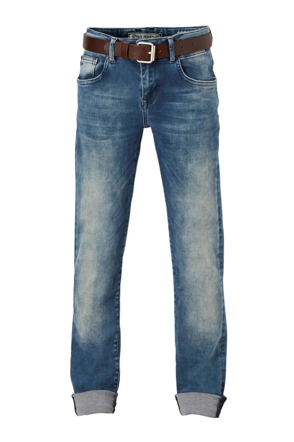 Petrol Industries Seaham slim fit jeans, Light stonewashed