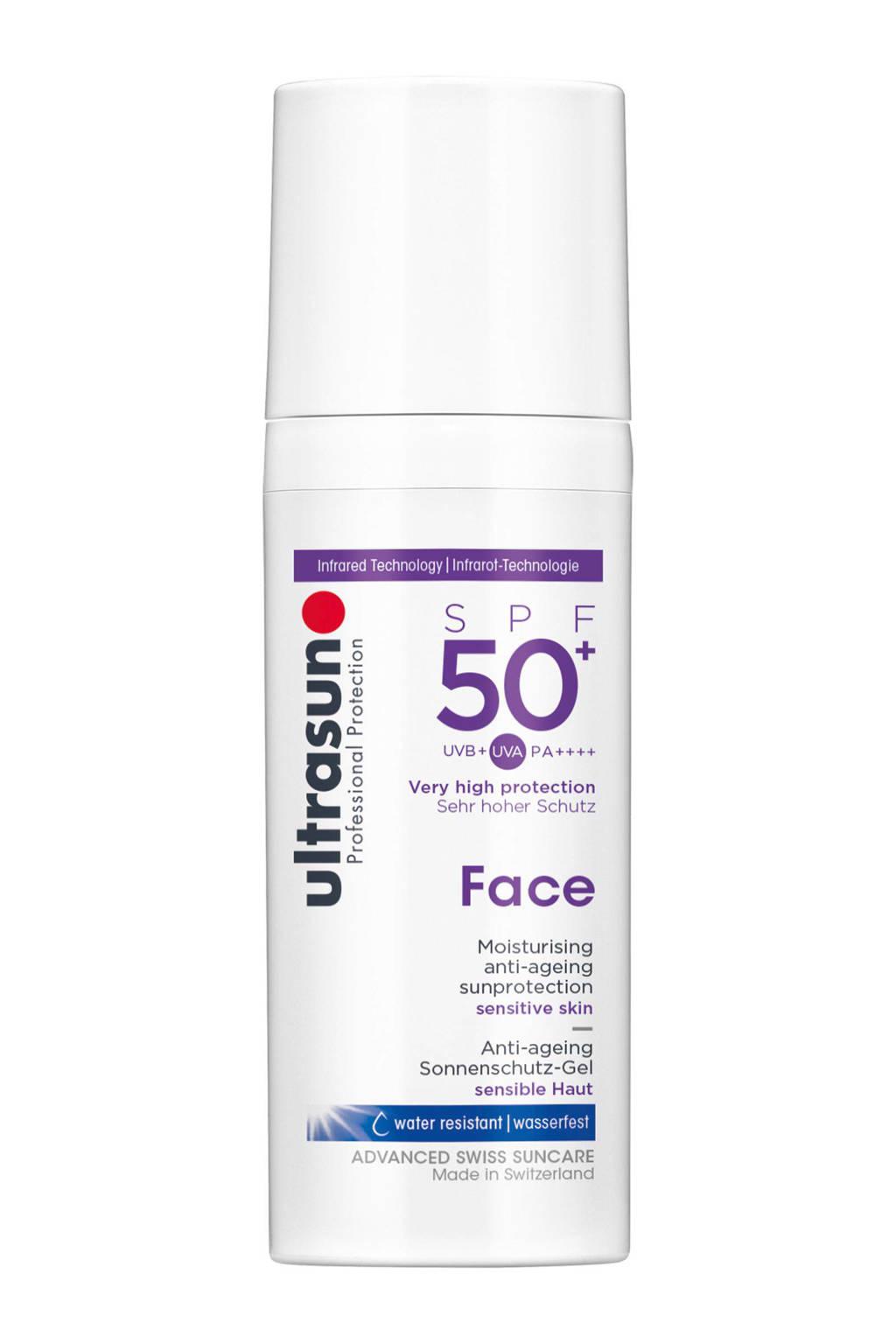 Ultrasun Face zonnebrandcrème SPF 50+ - 50 ml