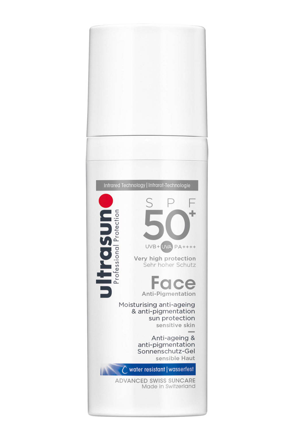 Ultrasun Face Anti Pigment zonnebrandcrème SPF 50+ - 50 ml