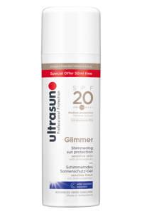 Ultrasun Glimmer zonnebrandmelk SPF 20 - 150 ml