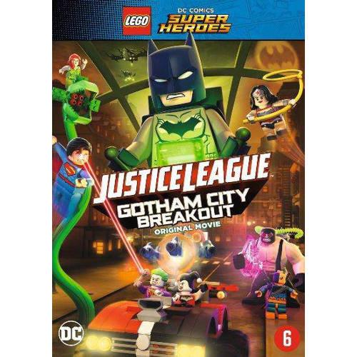 Lego DC super heroes Justice league Gotham city breakout (DVD)