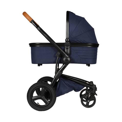 Kidsriver Daya kinderwagen - Zwart/Cognac + Navy kopen