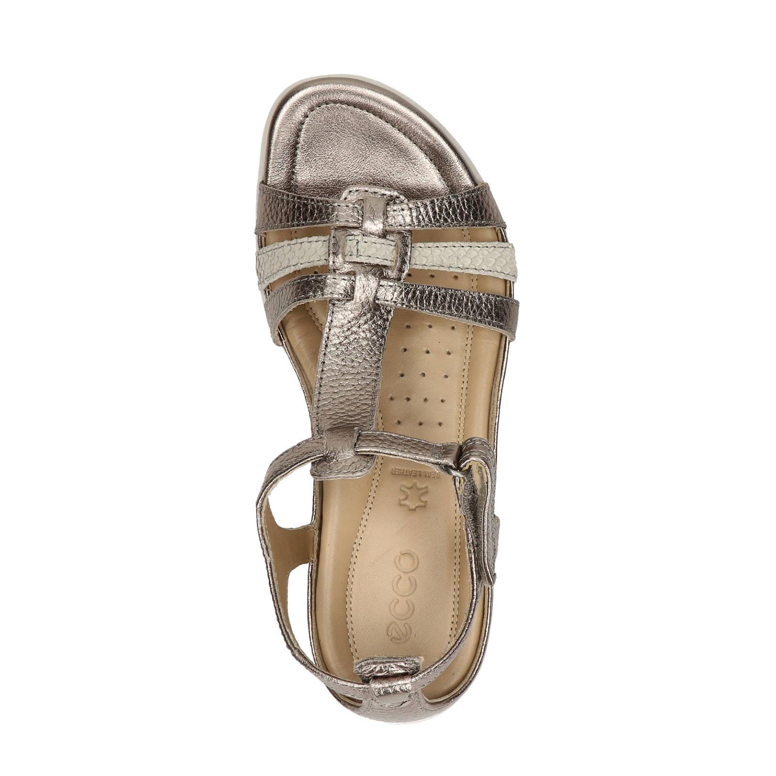Flash leren sandalen
