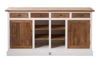 Riviera Maison dressoir Driftwood, Wit, bruin