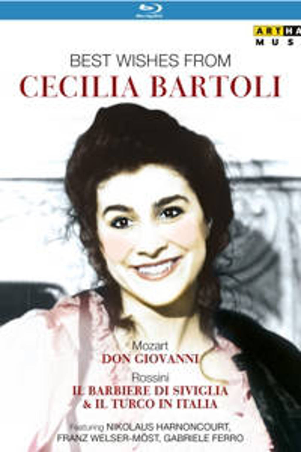 Bartoli In 3 Opera's - Best Wishes From Cecilia Bartoli Br (Blu-ray)