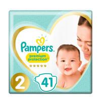 Pampers Premium Protection maat 2 (4-8 kg) 41 luiers