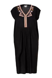 jurk met borduursels