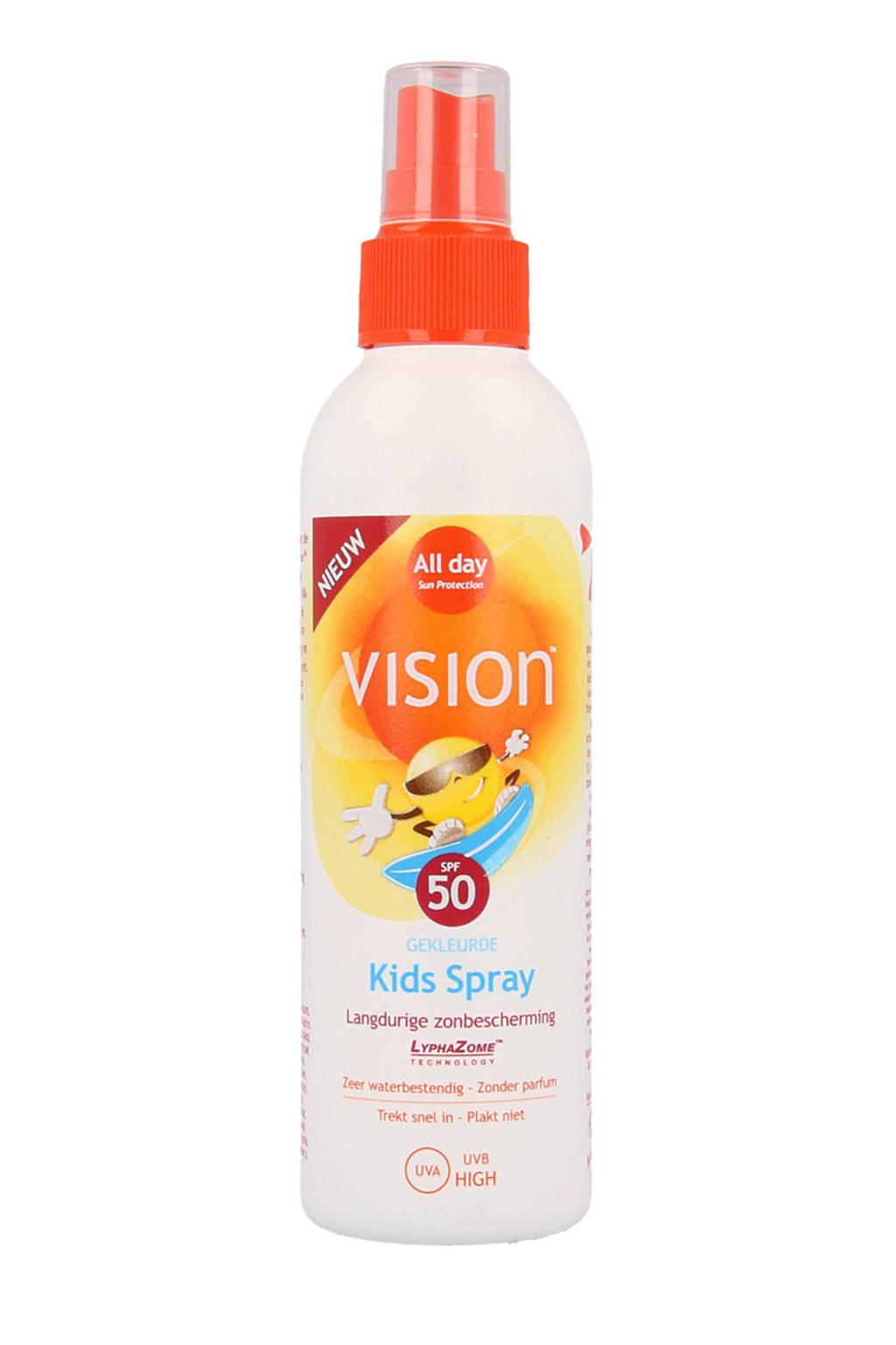 Vision Kids zonnebrandspray SPF 50 - 200 ml