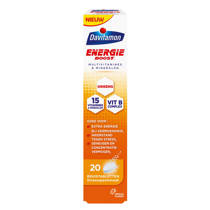 Davitamon Energie Boost Ginseng bruistabletten Orange - 20 stuks