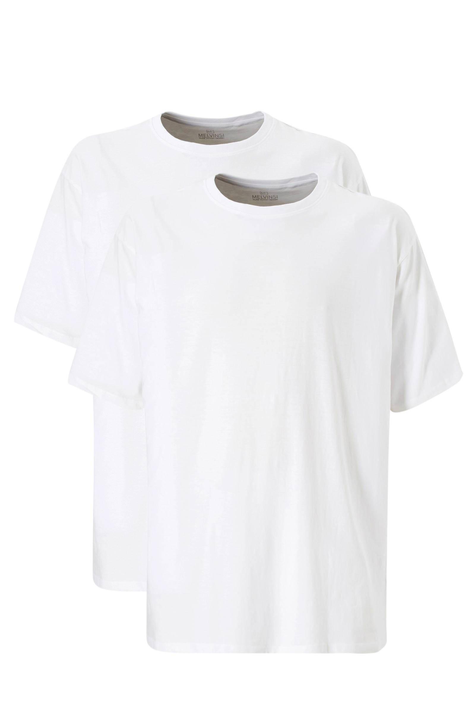 Melvinsi +size + size T-shirt (set van 2)