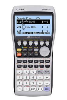 FX-9860GII grafische rekenmachine