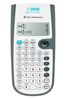TI-30XB Multiview rekenmachine