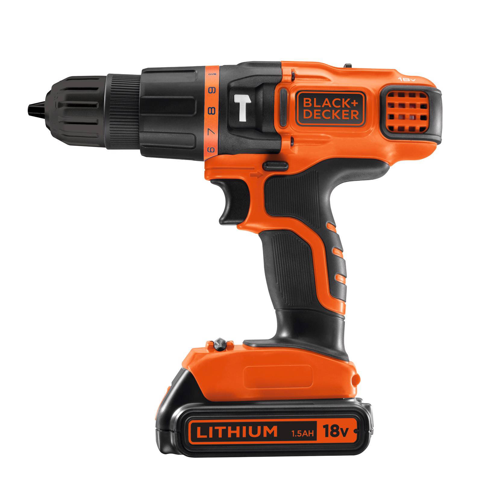 Black+Decker BDK188KB-QW Accuklopboormachine