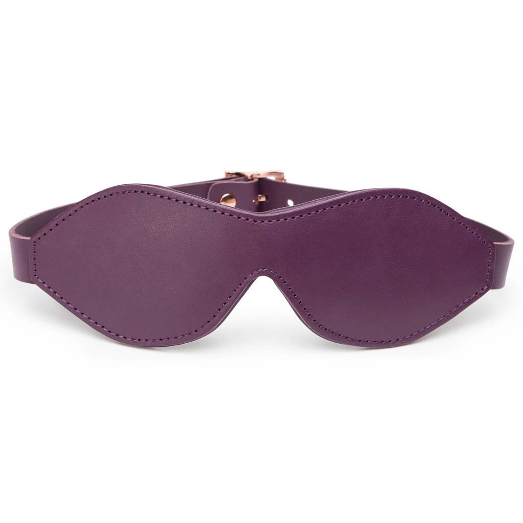 Fifty Shades Darker - Freed Cherished Collection - leren blinddoek
