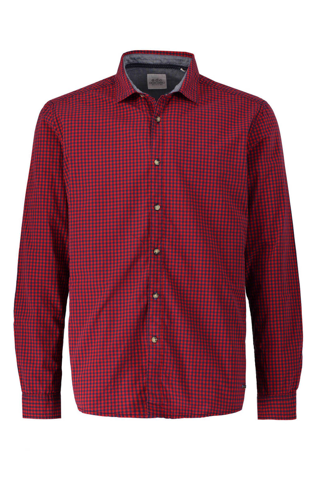 Rood Overhemd Slim Fit.Esprit Edc Men Slim Fit Overhemd Wehkamp