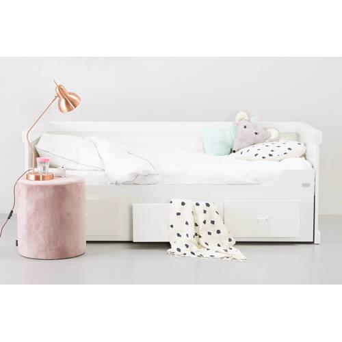 Coming Kids Rough bedbank met uitschuifbed Wit
