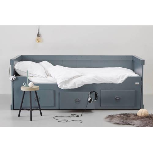 Coming Kids Rough bedbank met uitschuifbed Grijs