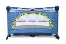 Allura campingbed linen denim