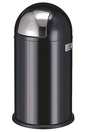 Pushboy 50 liter prullenbak