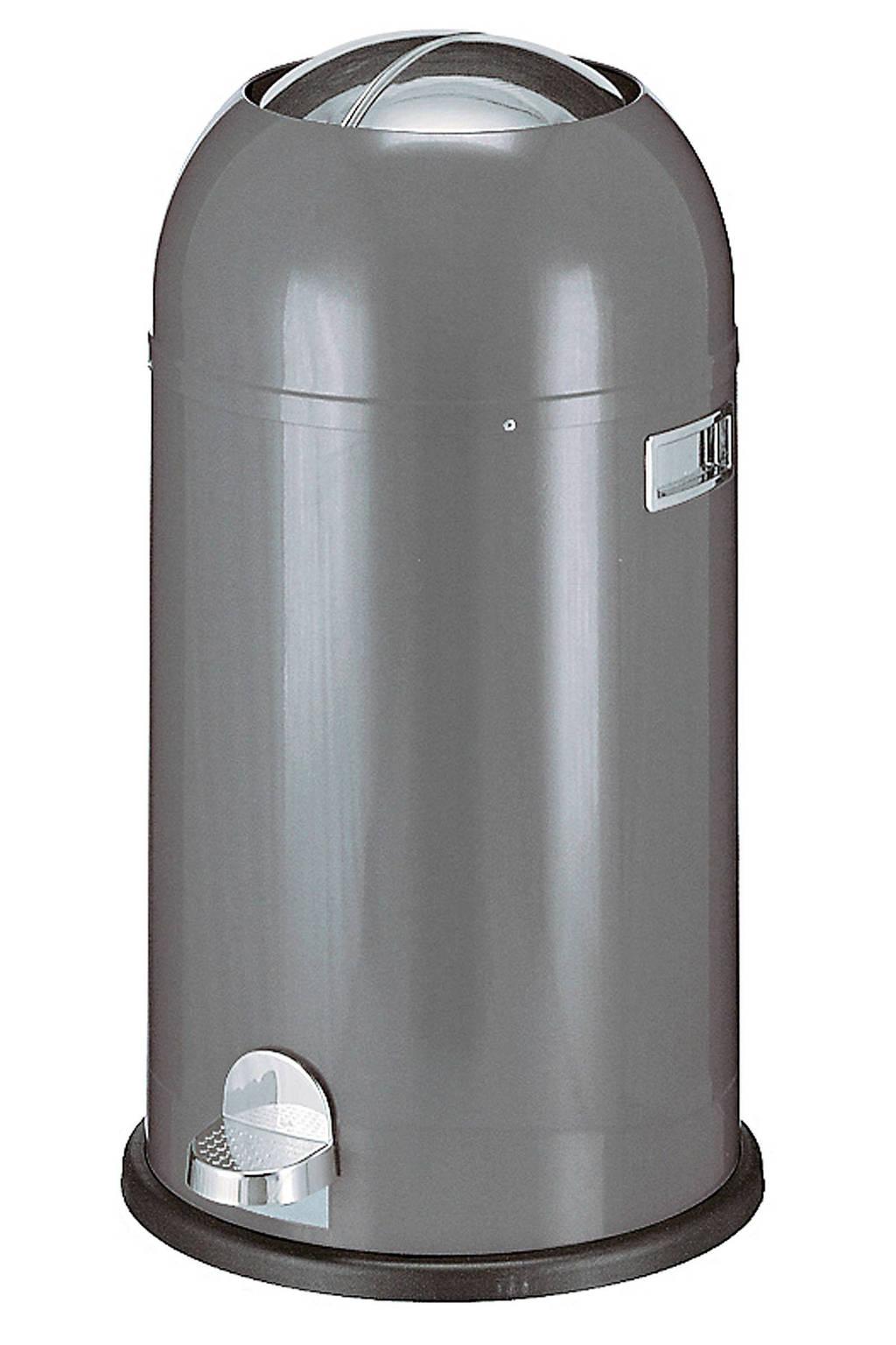 Wesco Kickmaster 33 liter pedaalemmer, Grafiet