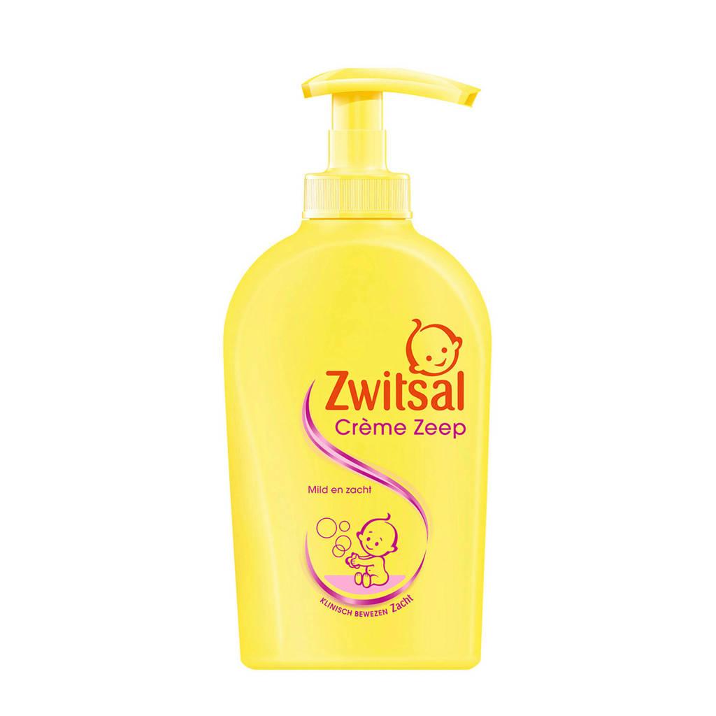 Zwitsal crème zeep pomp - 250 ml - baby
