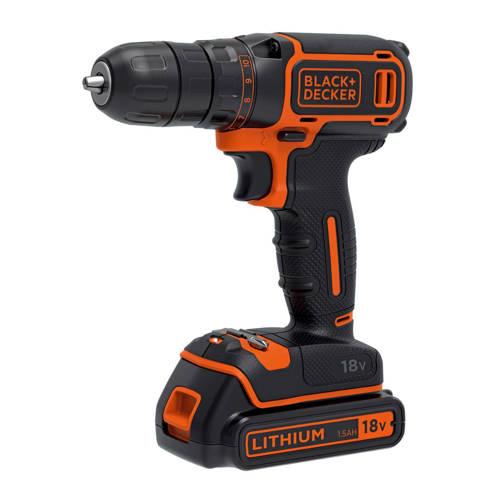 Black+Decker BDCDC18KB accuschroef-/boormachine 18V kopen