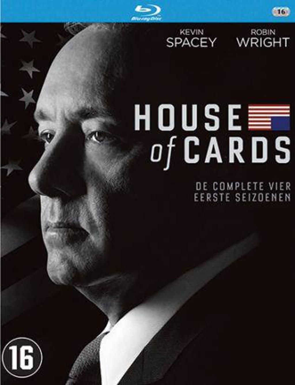 House of cards – Seizoen 1-4 (Blu-ray)