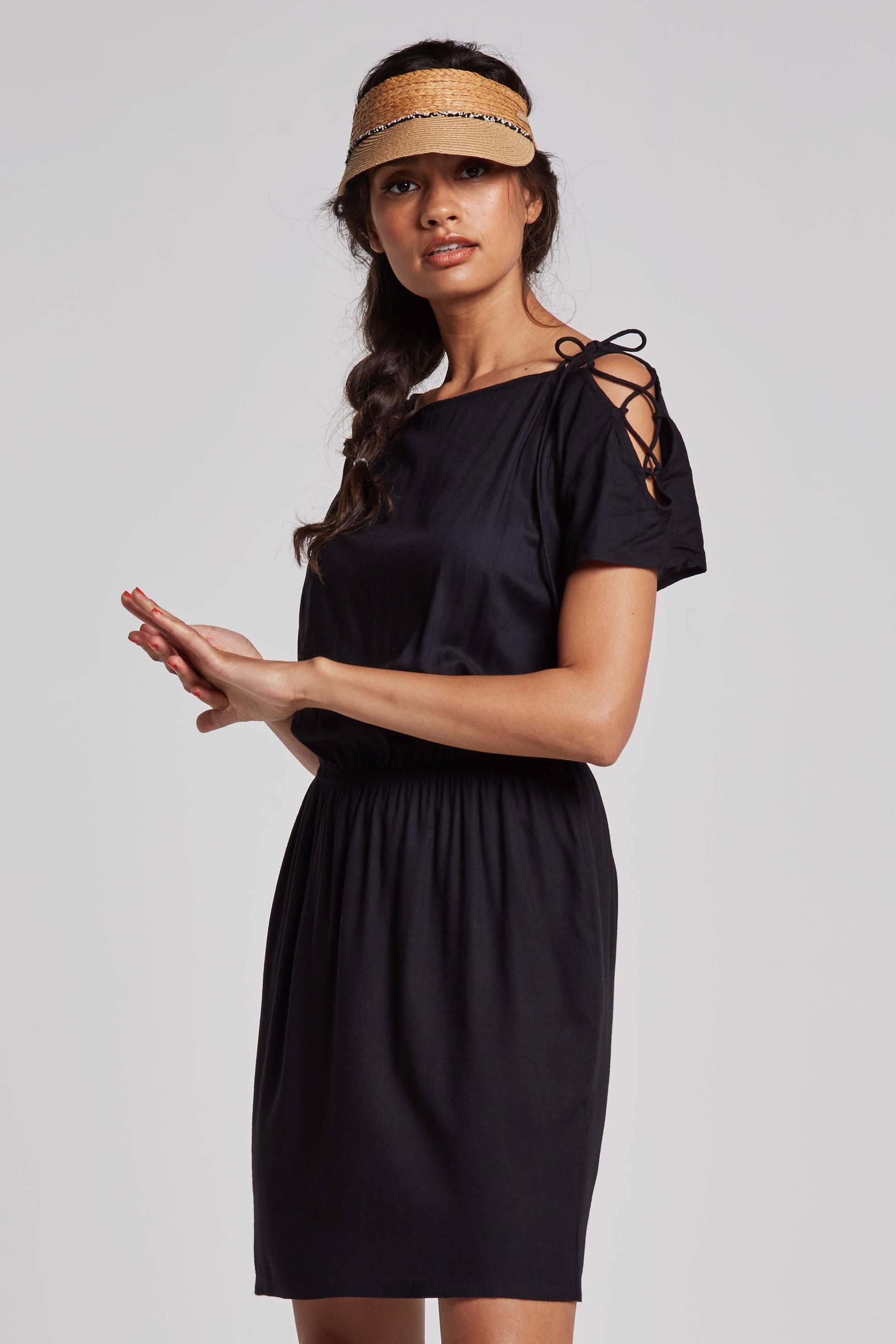 ff8efd58829e43 whkmp s beachwave jurk met veterdetail