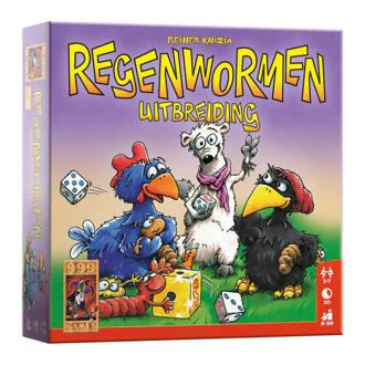 Regenwormen uitbreidingsset Uitbreidingsspel