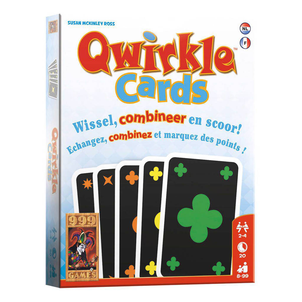 999 Games Qwirkle cards kaartspel